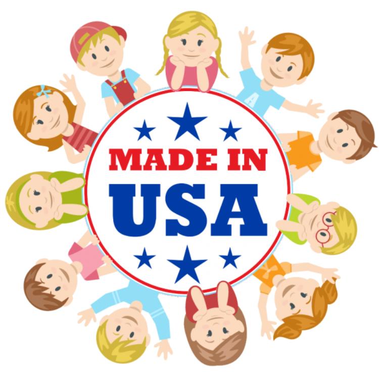 Детская одежда из США