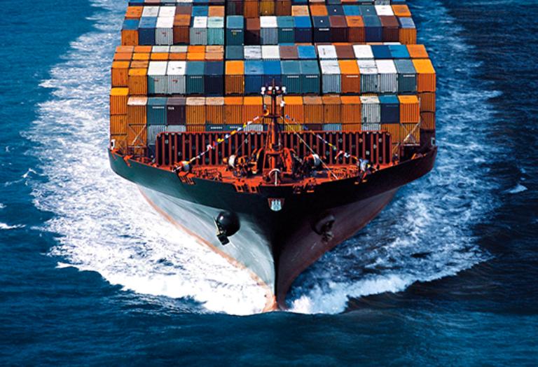Перевозки морем из Китая