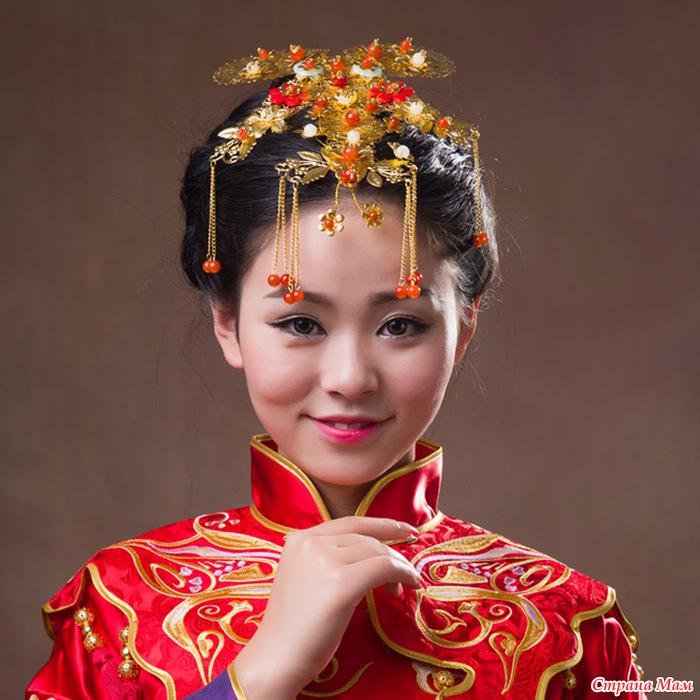 Золотые изделия из Китая
